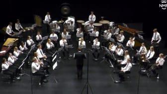 VANT: Tertnes Skoles Musikkorps er årets norgesmester i brassbandklassen. Korpset fikk 94 poeng, ett mer enn korpset på andreplpass.set fikk