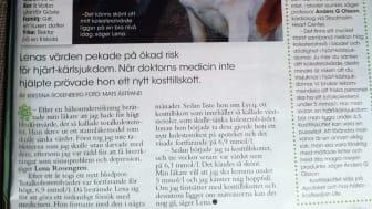 Lycq sänkte Lenas kolesterol naturligt