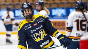 När det viktigaste behöver komma fram  – DHL fortsätter som huvudsponsor av den svenska damhockeyligan