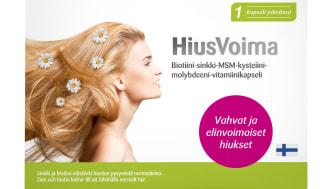 Elivo uutuus HiusVoima - kasvuvoimaa hiuksille