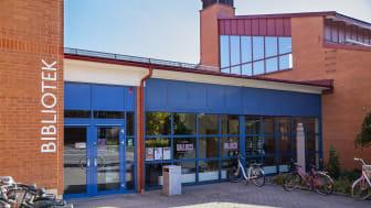 Högskolebiblioteket i Skövde bygger om i sina lokaler. Foto: Högskolan i Skövde