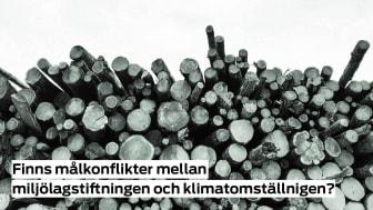 Finns målkonflikter mellan miljölagstiftningen och klimatomställningen?