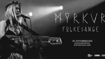Myrkur gæster DR Koncerthuset med albummet 'Folkesange'