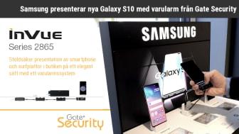Samsung presenterar nya Galaxy S10 med varularm från Gate Security