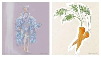 Illustrationer av Linda Nurk och Lydia Jeppson.