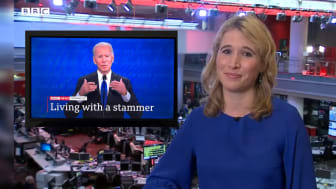 Stammering makes BBC news headlines