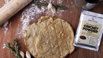Bröd på mjöl av insekter kan bli både mer hållbart och näringsrikt.