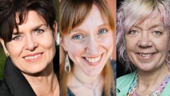 Ullakarin Nyberg, Lina Liman och Lisbeth Pipping medverkar i Psykeveckan i Umeå v. 45