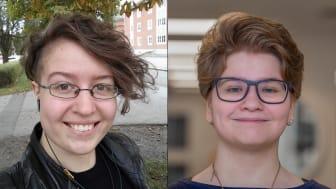 Agnes Benkö och Emma Arltoft får årets mångfaldsstipendium på Högskolan i Skövde.