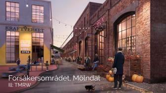 Byggnationen i Forsåker toppar återigen listan på heta byggprojekt i Sverige - för tredje året i rad!