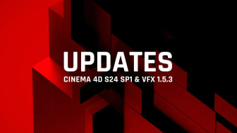 Incremental updates to Cinema 4D and VFX Suite offer enhancements, minor fixes and ensure stability
