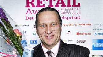 Vinnare Årets tekniska lösning Retail Awards 2011