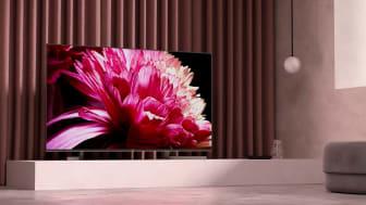 Televisor XG95 de Sony, uno de los modelos Smart TV compatibles con la App de Vodafone TV