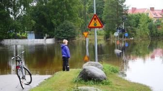Foto: Mostphotos, översvämning i Söderhamn