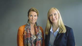 Marianne E. Johnsen og Renate Larsen