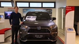 En bredde av bilmodeller sikret nok et solid år for Nordvik Toyota Steinkjer
