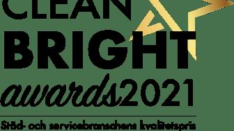 Årets Bransch pris Clean Bright Awards 2021