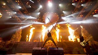 Den 7 juni 2018 äntrar Iron Maiden scenen på Sweden Rock Festival i Sölvesborg.