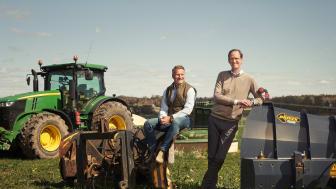 Klaraviks ägare Christian Lenander, vd, och Christian Knutsson, vice vd, kan se tillbaka på ett rekordår. Inte minst när det kommer till försäljningar inom lantbruk där den digitala auktionslösningen hjälpt många i pandemin.