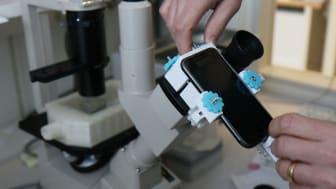 Uppdaterat standardmikroskop