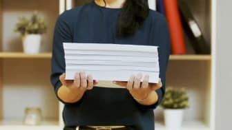 Det er mulig å gjøre forretningsutskriftene dine mer miljøvennlige.