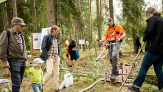 Stort intresse för största mellansvenska skogsmässan