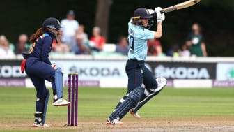 Amy Jones made her fiftieth ODI cap on Sunday. Photo: Getty Images