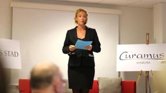 Sofie Nelsén, enhetschef Träffpunkt Simonsland.