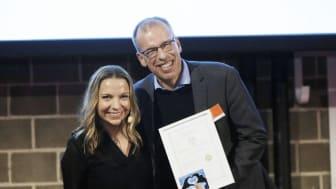 Utmärkelse till Linder & Partners på SPP:s förmedlarafton