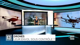 Drones commerciaux en Belgique : d'ici à 2020, plus de 1000 emplois supplémentaires