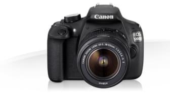 Canons nye EOS 1200D gjør speilrefleksfotografering til en lek