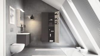 Nu lanserar Geberit fem nya badrumsserier i Sverige