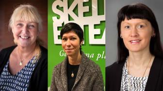 Kicki Krane, Sara Sjölin och Ida Lindh.