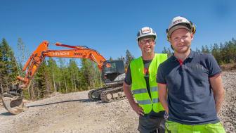 Örnsköldsviksborna Ronnie Andersson och Nicklas Holmgren startade eget och har fått en kanonstart. (Foto: Mats Thorner)