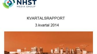 NHST Media Group - Kvartalsrapport 3. kvartal 2014