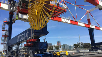 Cavotec motorised cable reels ensure the safe and reliable transmission of power, data, and fluids.