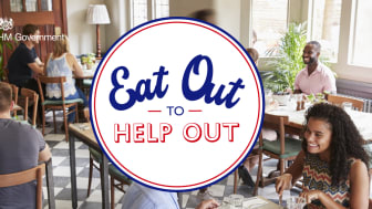 Eat Out to Help Out – look for the logo