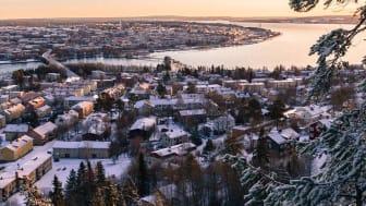 Bild: Östersund, Jämtland av fotografen Lars Falkdalen Lindahl. Licnes Creative Commons (BY-SA).