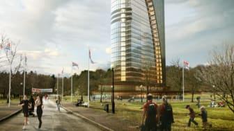 GöteborgsVarvet bygger Löparhotell mitt i Slottsskogen