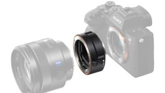 Sony présente la LA-EA5, une nouvelle bague d'adaptation plein format (35mm) monture E pour vos objectifs à monture A