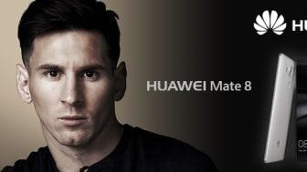 Världens bästa fotbollsspelare Lionel Messi är ny ambassadör för Huawei