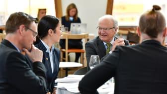 Seminariet Ungt Ledarskap i Luleå våren 2017. Foto: Stiftelsen Ungt Ledarskap/Nathalie Malic