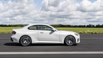BMW 220i Coupé i Mineral White