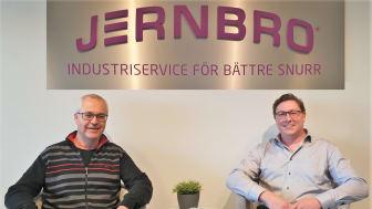 David Andersson och Daniel Brissman – två erfarna energiingenjörer på Jernbro