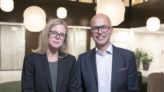 Kajsa Goding och Mats Fagerlund, Grant Thornton