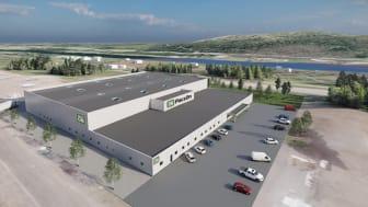 PacsOn satsar i Skellefteå - flyttar till nybyggda lokaler 2022