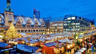 Einer der schönsten Weihnachtsmärkte lockt mit vielen Attraktionen: Leipziger Weihnachtsmarkt 2014