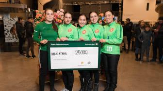 Sidste års vindere fra GSS Håndbold