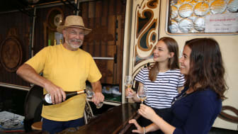 Genuss, Kultur und gute Laune: Das Leipziger Weinfest belebt die Innenstadt - Foto: Andreas Schmidt
