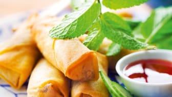 Vietnamesiska vårrullar med grönsaker